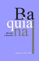 Portada de Baquiana 135 x 211 IV Anuario
