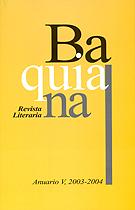 Portada de Baquiana V 135 x 211